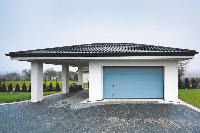 Wiatę warto zbudować razem z domem lub garażem wolno stojącym. Jej szerokość na jeden samochód osobowy powinna wynosić przynajmniej 2,5 m