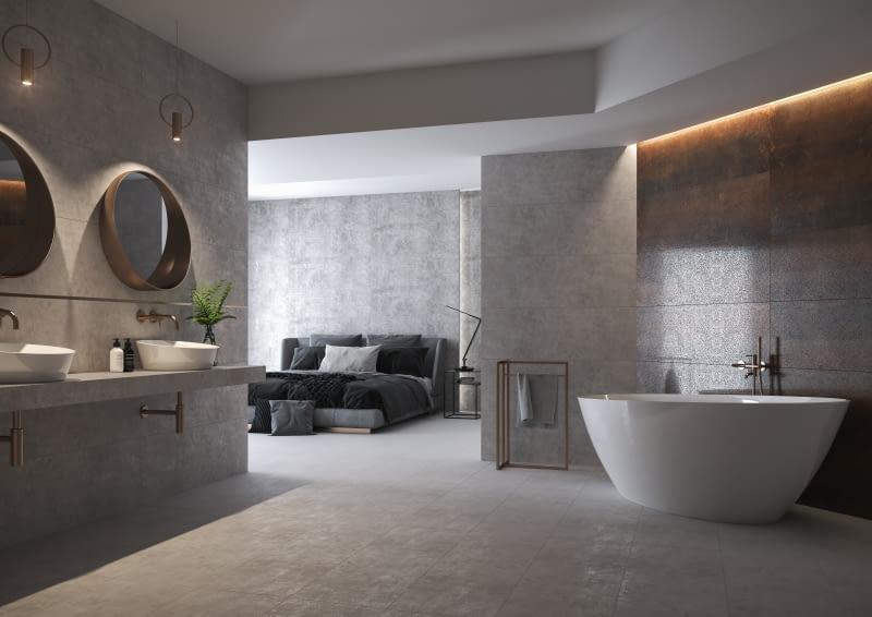 Beton w łazience – takie rozwiązania wybieramy coraz częściej