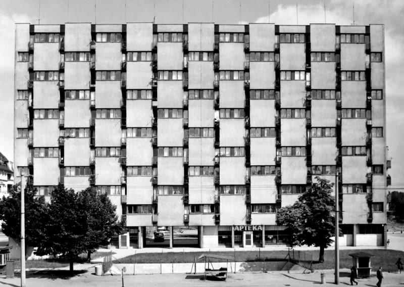 Galeriowiec przy ul. Grabiszyńskiej, Projekt Stefan Müller