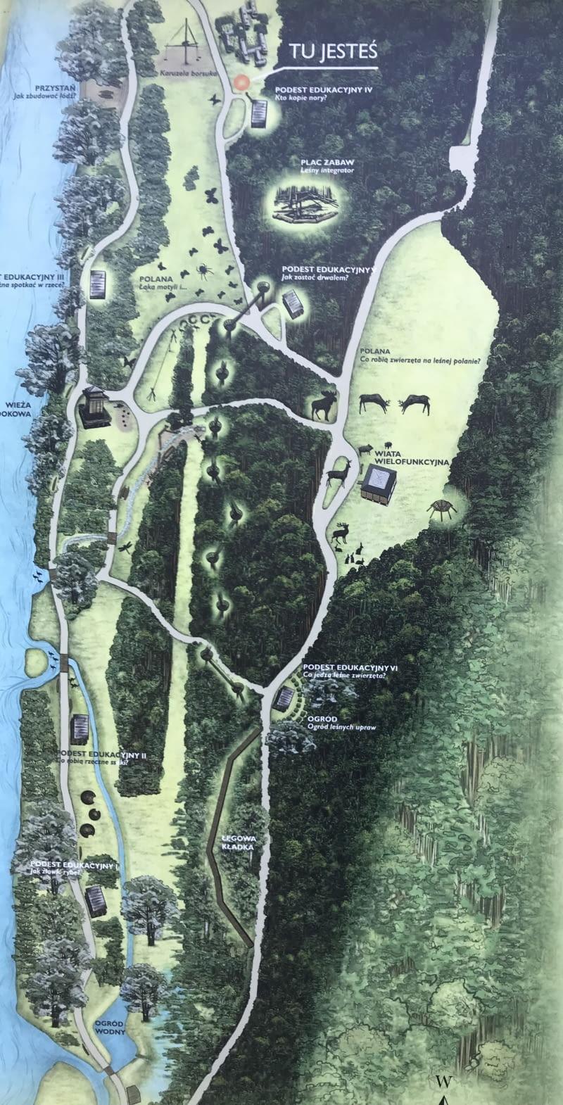 Plan Parku Dolina Wkry