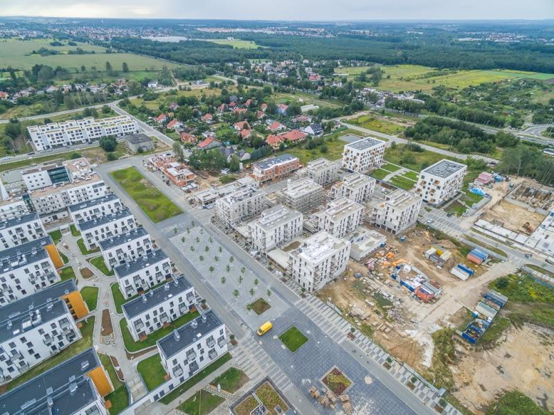 Osiedle Nowe Żerniki we Wrocławiu.