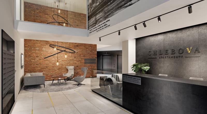 Chlebova Apartamenty w Gdańsku. Proj. Roark Studio