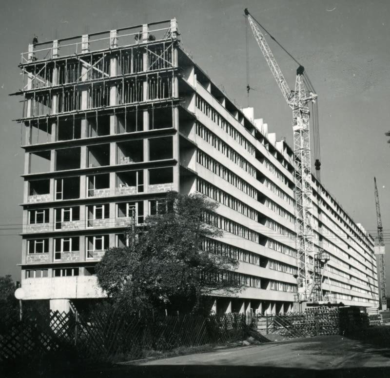 Budowa Superjednostki przy ul. Drukarskiej, Projekt Leszek Zdek
