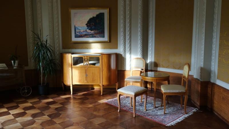 Wnętrza z meblami autorstwa Henry'ego van de Velde