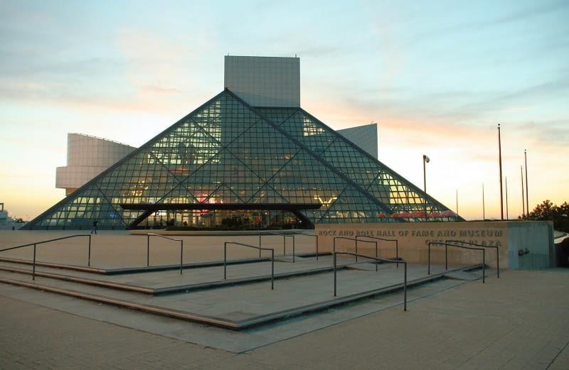 Muzeum Rock and Rolla w Cleveland. Proj. I.M.Pei