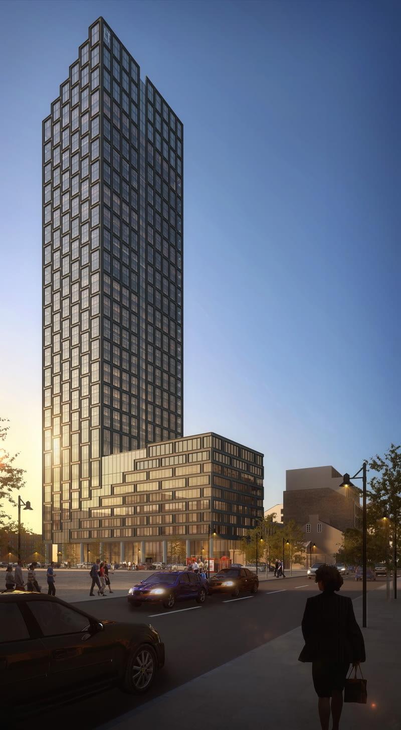Liberty Tower. Proj. Arquitectonica i Epstein.