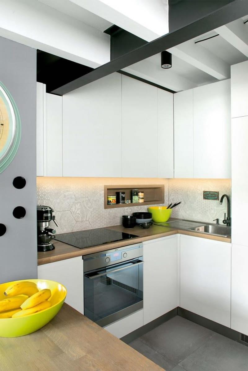 mieszkanie z antresolą, aranżacja wnętrz, projektowanie wnętrz, wnętrza, antresola