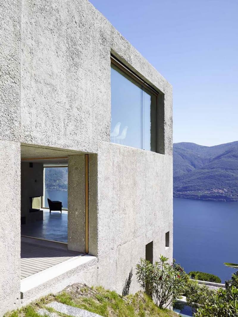 Dom w Brissago. Proj. Wespi de Meuron Romeo Architects