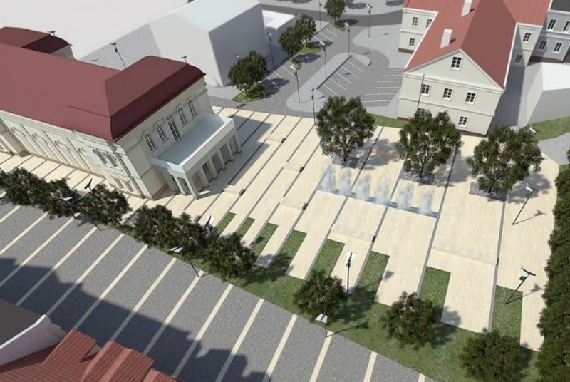 Rewitalizacja najstarszej historycznie części Kutna
