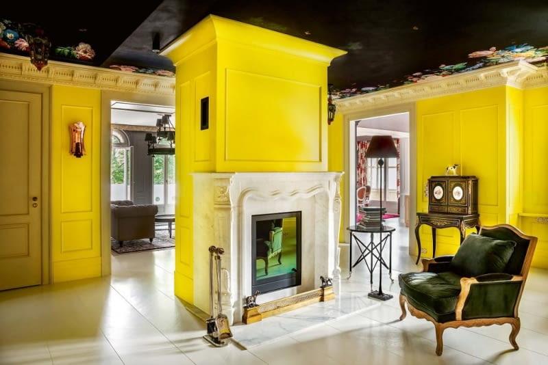 mieszkanie, apartament, aranzacja wnetrz, kamienica, poddasze, meble, kolory