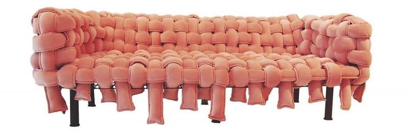 Sofa Underconstruction, proj. Pedro Paulo Franco dla A Lot of Brasil, www.kookudesign.pl