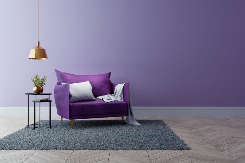 Uważa się, że fiolet jest ulubionym kolorem artystów.