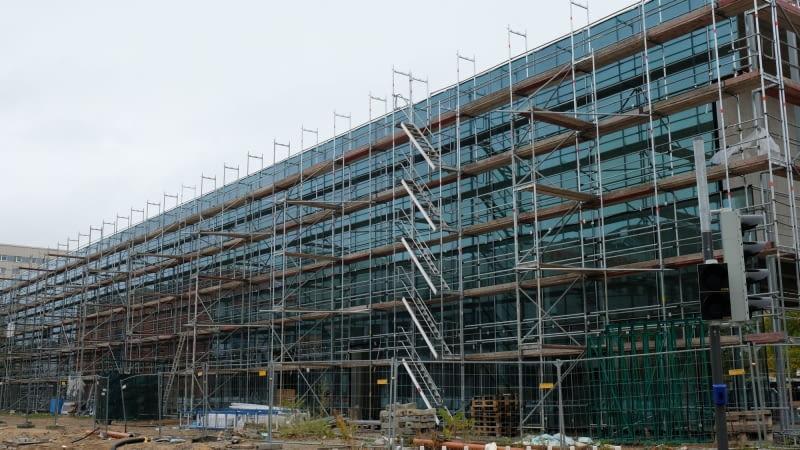 Budowa Muzeum Bauhausu w Dessau