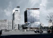 jean nouvel, wiedeń, austria, wieżowce, wieżowiec, hotel, Praterstrasse 1