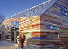 Nowoczesna architektura przedszkola w Utrechcie, proje. Drost van Veen