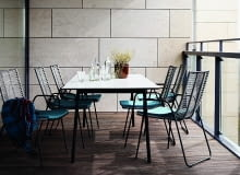 BoConcept, meble na taras, meble na balkon, nowoczesne meble ogrodowe, duński design, meble balkonowe