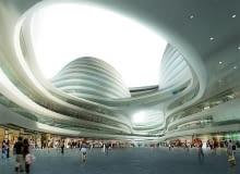 projekt, pekin, zaha hadid, publiczne, centrum handlowe, chiny