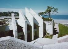Sala kongresowa w Perros Guirec, Francja, 1968-69, proj. Andre (Andrzej) Mrowiec
