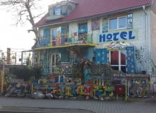 Hotel Republika Wyobraźni w Mirosławcu