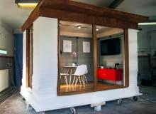 Betonowy budynek z drukarki 3D od REbuild