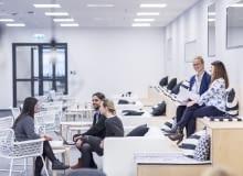 Wnętrze nowego biura IKEA w Poznaniu zaprojektowano zgodnie z ideą Activity Based Workplace