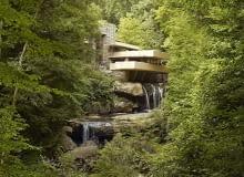 Fallingwater - proj. Frank Lloyd Wright
