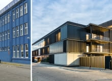 Budynek biurowy ZREMB w Poznaniu przed metamorfozą.