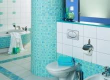 łazienka, kolorowa łazienka, turkus, płytki