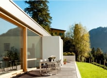 nowoczesne okna, antywłamaniowe okna, taras