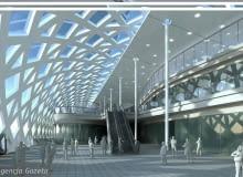 projekt, dworzec, pkp, poznań, trigranit