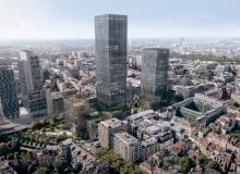 Projekt nowej siedziby Komisji Europejskiej w Brukseli przygotowany przez Kuryłowicz & Associates w konsorcjum z RS Architektura Krajobrazu i Buro Happold