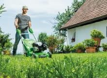 Kosiarka MB 545 zapewnia idealnie przycięty trawnik. trawnika. Kosiarki.