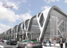 Tak będzie wyglądało lotnisko w Kielcach projektu Stefana Kuryłowicza
