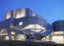 sala koncertowa, japonia, publiczne, dekonstruktywizm, beton