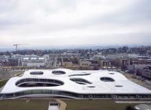 Rolex Learning Centre projektu japońskiego duetu architektonicznego SANAA, Rolex Learning Center Lozanna