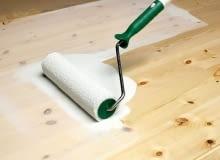 podłogi drewniane, bielenie podłogi