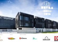 BRYŁA ROKU 2016 - nagroda Internautów Serwerownia Beyond, projekt: ELD Poland