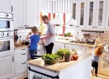 kuchnia, sielska kuchnia, kuchnia w sielskim stylu, przytulna kuchnia