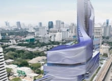 amanda levete architects, architektura, wieżowiec, centrum handlowe, hotel, central ambassy, bangkok, tajlandia