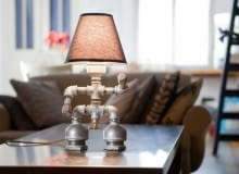 Lampy KOZO, proj. David i Anat Shefa, oświetlenie, recykling, design