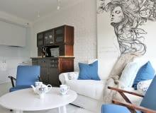 Vintage i Skandynawia - klimatyczne mieszkanie w Krakowie