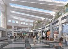 Projekt przebudowy wnętrza centrum handlowego Arkadia w Warszawie
