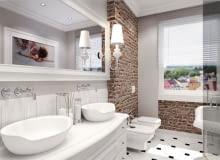 lustro, łazienka, dodatki, meble, aranżacja wnętrz
