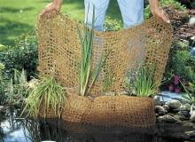 Praktyczna kieszeń na rośliny wodne wykonana z naturalnego włókna kokosowego. Pomoże stworzyć w oczku piękną kompozycję; ok. 44 zł, Gardena