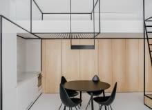 46-metrowe mieszkanie w kamienicy zamienione w nowoczesny apartament