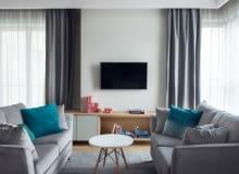 Pełne wzorów mieszkanie na warszawskim Powiślu