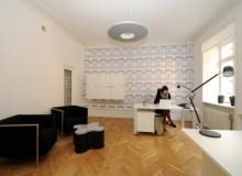 Wnętrza Instytutu Polskiego w Sztokholmie