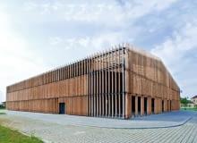 szkoła, polska architektura, wrocław, sport, isba grupa projektowa