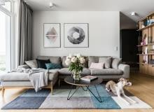 Mieszkanie w Gdańsku w stylu skandynawskim