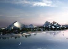 azerbejdżan, urbanistyka, big, baku, bjarke ingels group, ekologia, zrównoważone budownictwo, zira island, zira